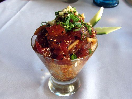 Five Palms Ahi Poke