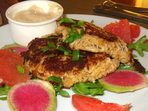 Pineapple Grill Maui crabcakes