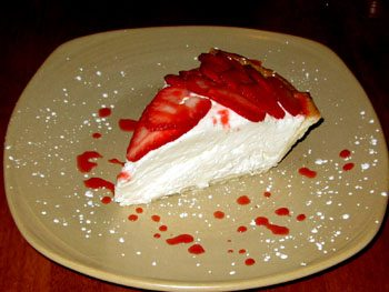 Dessert Pie at Peter Merriman Monkeypod Kitchen restaurant Wailea