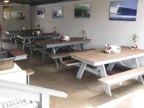 Outdoor tables Kihei