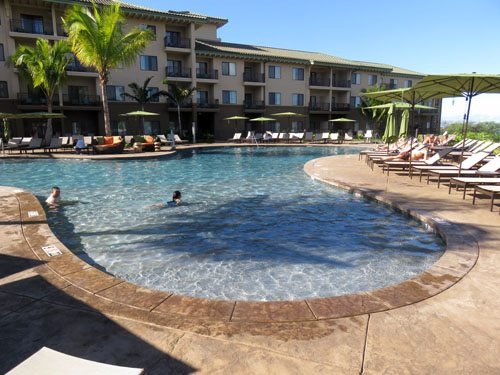 Wailea Residence Inn pool