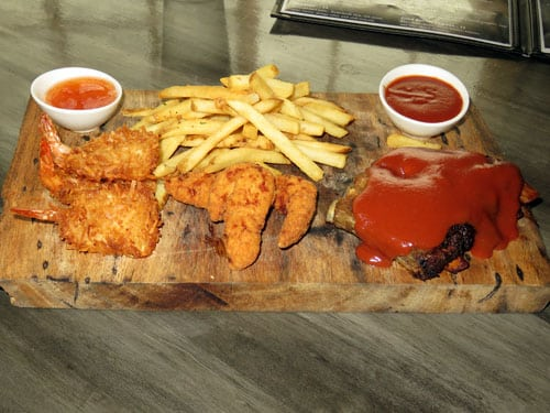 Lava Rock Bar and Grill combo food