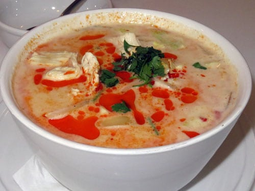 Nutcharee's Authentic Thai Food soup